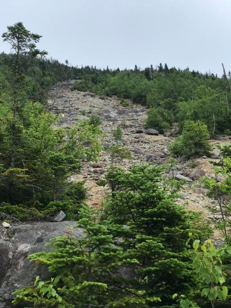 Macomb Mountain Rockslide