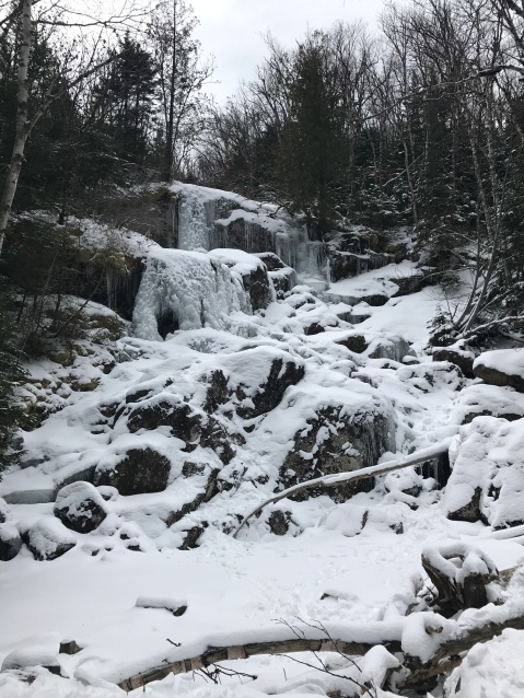 Frozen Waterfall on Algonquin