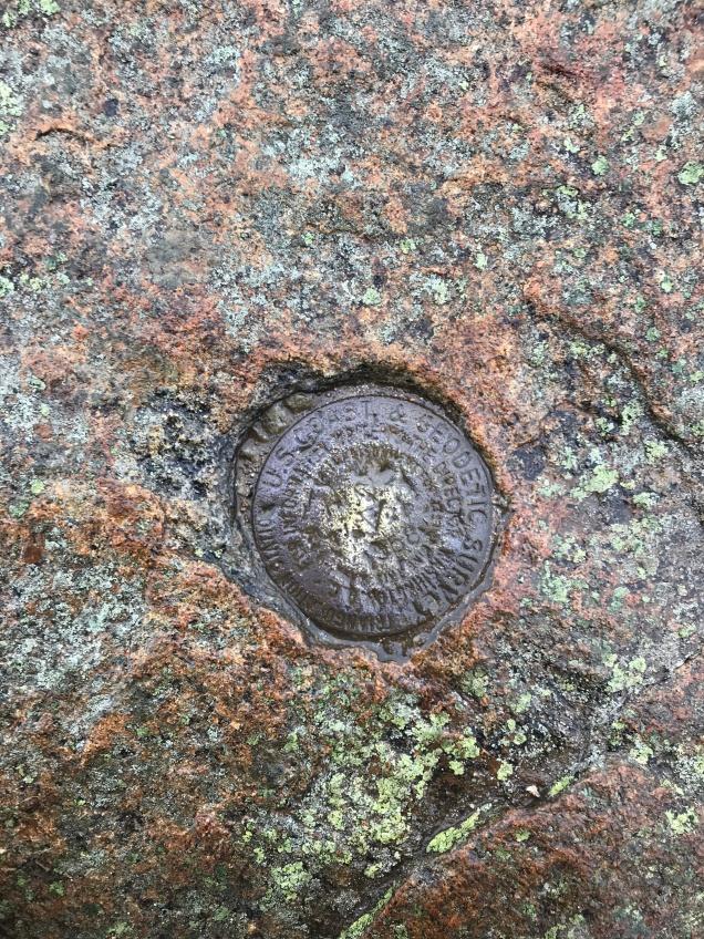 Mount Lafayette Marker