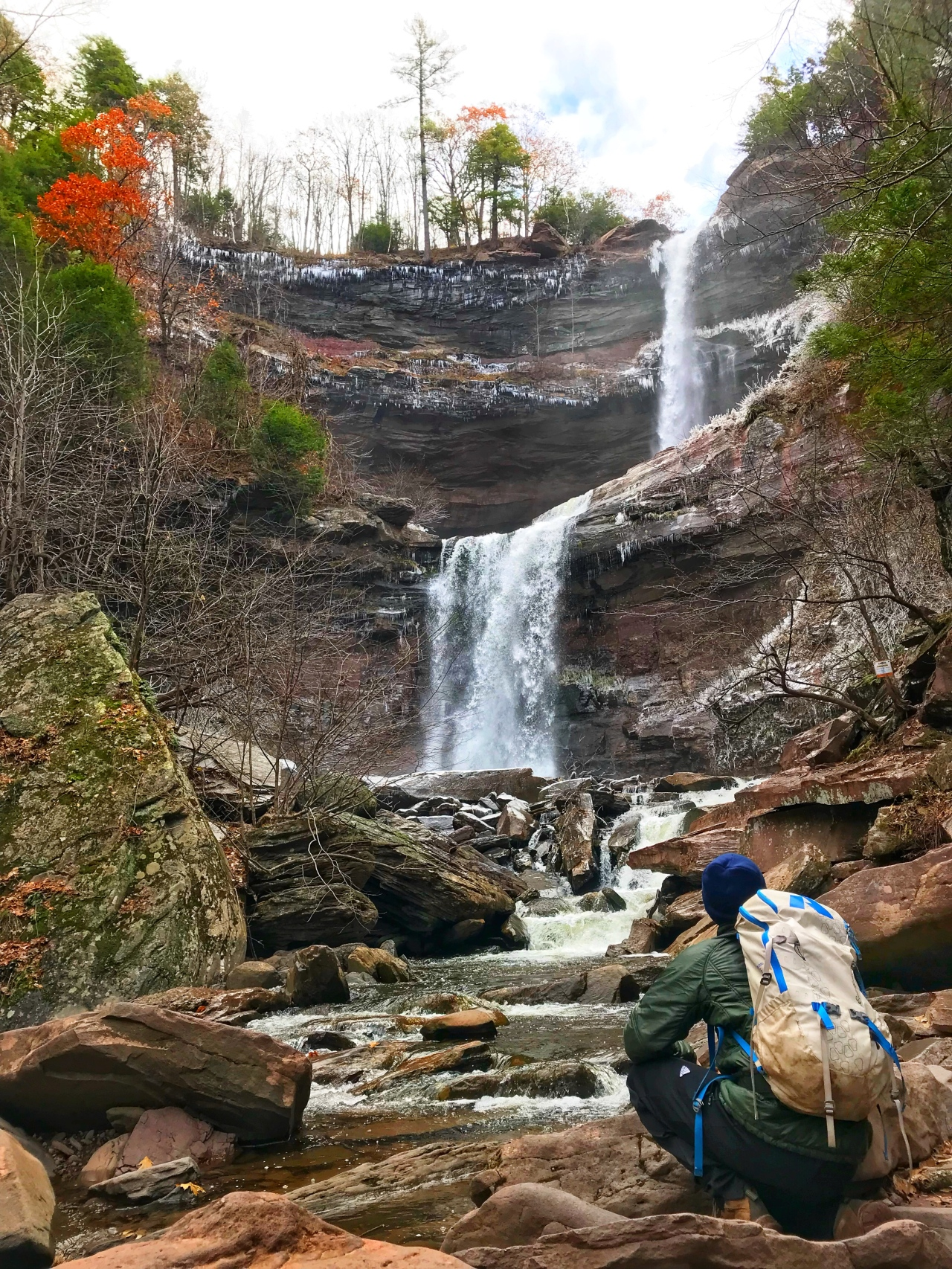 Kaaterskill Falls: 230 Feet of Falling Water!!
