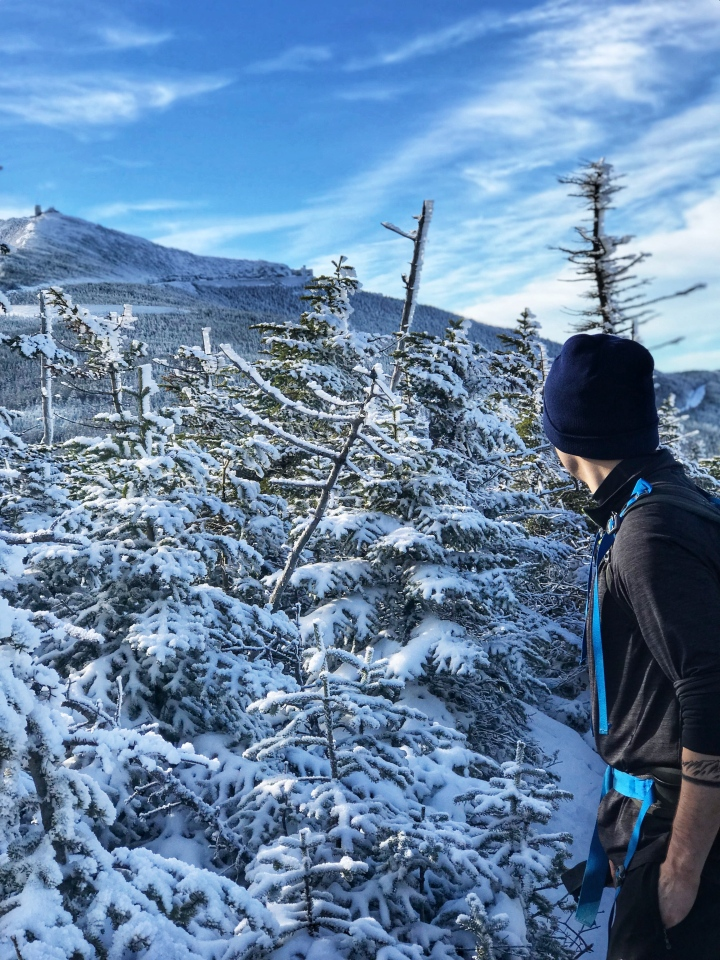 looking at whiteface mountain
