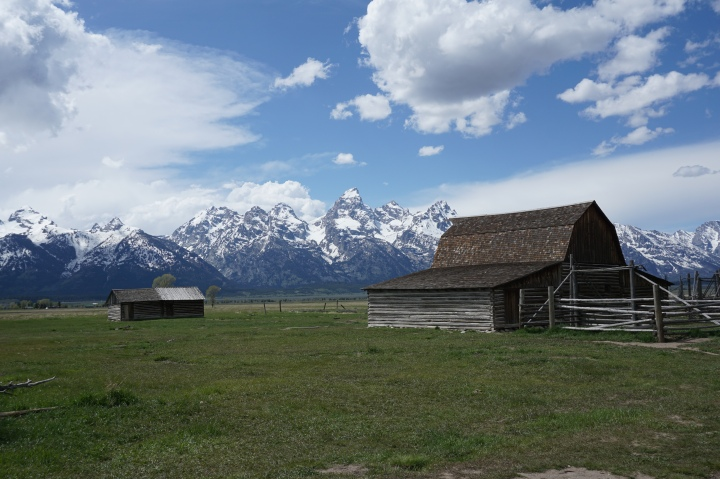 Famous Barn at Mormon's Row Historic District