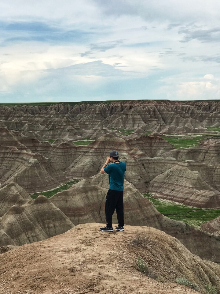 Me standing in the Badlands