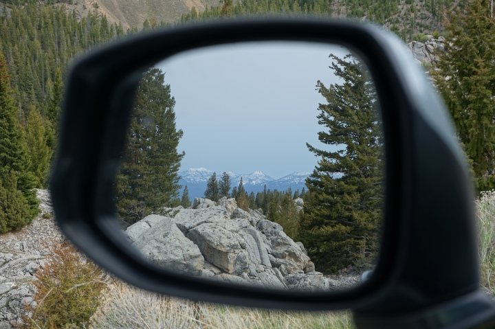 Mountain mirror shot