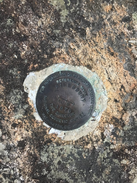 Pillsbury Summit Marker