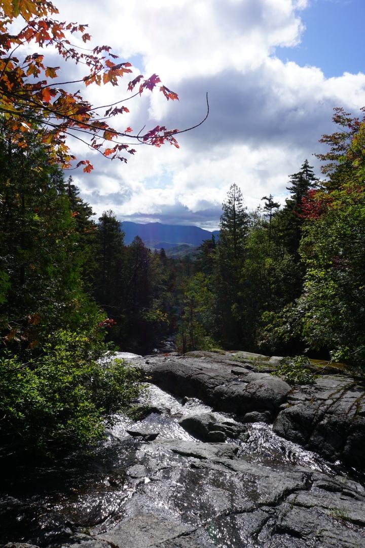 Waterfall Before Bradley Pond