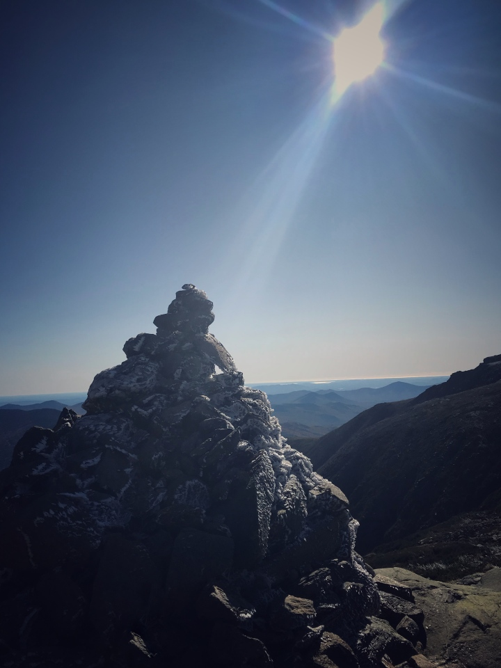 Cairn on Headwall of Mount Washington