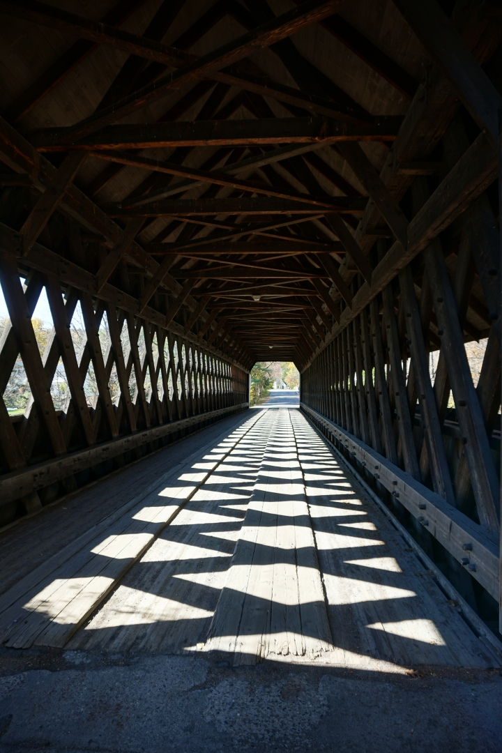 Shadows on Middle Bridge