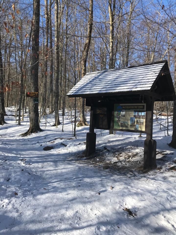 Bald Mountain Trail Register